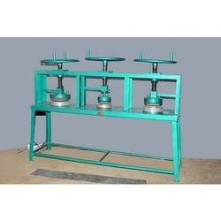 Manual Areca Leaf Plate Making Machine