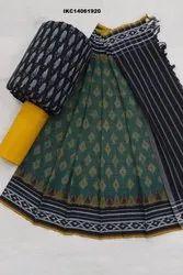 Ikat Cotton Salwar Suits