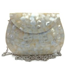 62dd13f1e394 Metal Bag Metal Handbag Mother of Pearl Clutch MOP Bag Shell Clutch Indian  Clutch