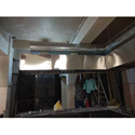 Stainless Steel Kitchen Ducting Work, For Commercial, On Site