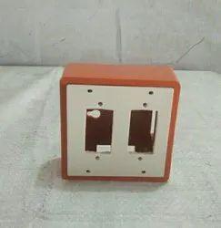 Diya PVC Open 2 Narrow Slot Switch Board