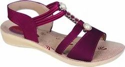 Ladies Fashionable Pu Sandal LS-Nisha15