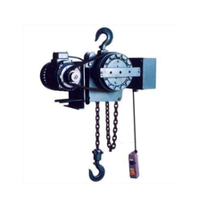 Motorized Chain Pulley Block, for Single Grinder Crane, Capacity: 1 Ton