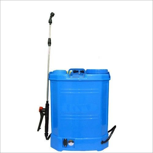 Blue V-Tech Battery Power Sprayer, Rs 2500 /unit Vedham Agri Engineering    ID: 22193411273