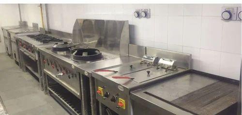 304Stainless Steel Hotel Kitchen Equipment