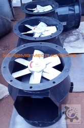 Bifurcated Axial Fans