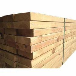 Rectangular Sawn Wood Planks