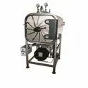 Horizontal High Pressure Cylindyrical Steam Sterilizer