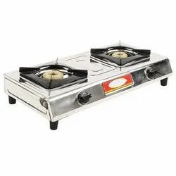Lakshya Luxmi Super Two Burner Gas Stove