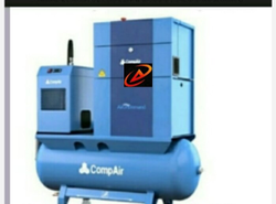 10 HP Awct Screw Compressor, Air Tank Capacity: 300L, Discharge Pressure: 12bar