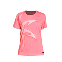 Women Sporty Pink T-Shirt