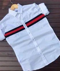 Cotton Plain mens wear shirts, Size: M To Xxl