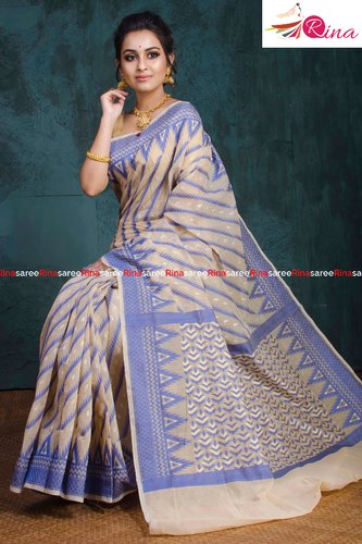 Fancy Karat Dhakai Sarees