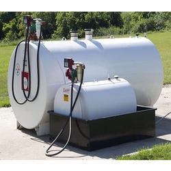 Mobile Tank with Dispenser Machine