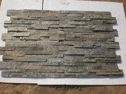 Deoli Green Ledge Stone Panel