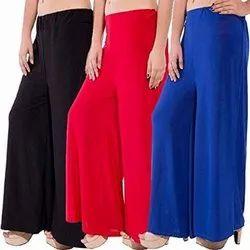 Ladies Cotton Palazzo Pants
