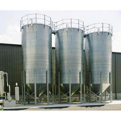 Stainless Steel Silo Fabrication Work