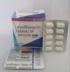 Allopathic Levofloxacin 500mg Tablet for Anti-Infective, Packaging Type: Strips