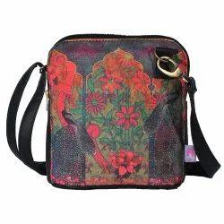 Colour Splash Flower Crossbody Bag