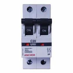 16 Amp 240 - 415 V Anchor C20 MCB
