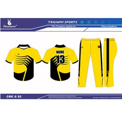 Cricket league jerseys