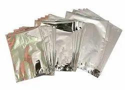 Aluminium Silver Aluminum Pouch