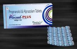 Propranolol 20 mg & Alprazolam 0.25 mg