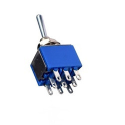 3 PDT Toggle Switch