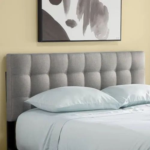 Grey Wooden Bed Headboard, For Home, Paras Foam And Furnishing | ID:  21740658088