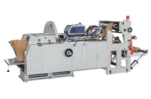 Automatic Indian Paper Food Bag Making Machine, 230 V
