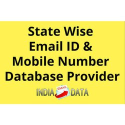 State Wise Email ID & Mobile Number Database Provider