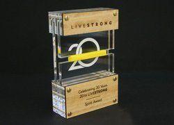 Sport Designer Wooden Trophy
