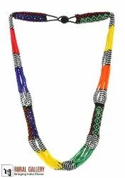 Multi Seed Beads Necklace