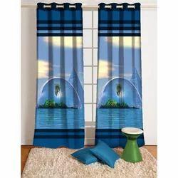 Digital Print Decorative Curtain