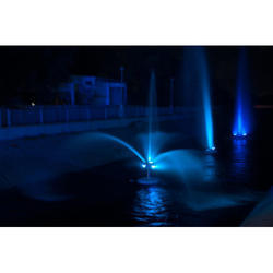 Blue Floating Fountain