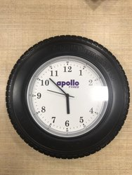 Tyre Share Wall Clock