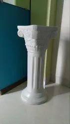 White FRP Sculptures
