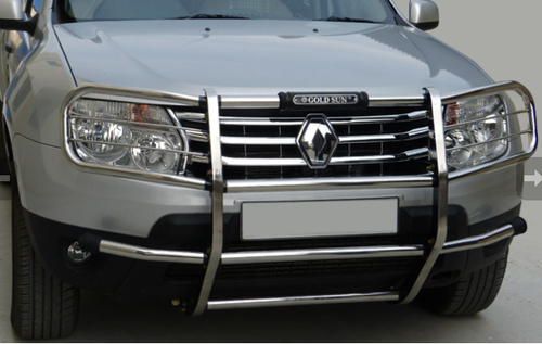 Renault Duster - Renault Duster Front Bumper Stainless ...