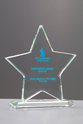 Star Crystal Award Trohy