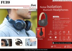 Fuzo Bluetooth Headphone Jive