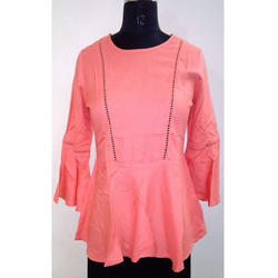 Ladies Pink Frock Top