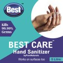 Virus Protection Alcohol Based Hand Rub/ Sanitizer ByPureNaturals, Size: 5 Ltr Can, 83.3% Ethanol