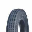 Nylon Milestar Rib Light Commercial Vehicle Tyre, Size: 155/80 D12