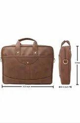 Office Leather Slim Bag