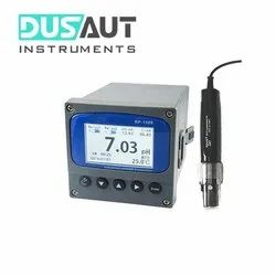 Dusaut Instruments 4 Line Back Light Lcd Display PH Transmitter, for Industrial, 0.50 Kg