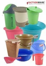 Actionware Multicolor Household Plastic, For Home