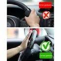 3R-2151 Black 360 Degree Rotation Universal Car Steering Wheels Spinner Knob