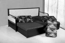 MILD STEEL SOFA CUM BED, for Home