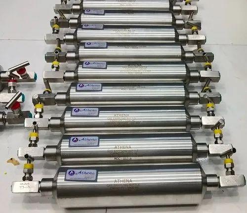 Gas Sampling Bomb - Gas Sampling Bottle Manufacturer from Mumbai