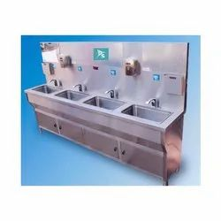 SS Automatic Hand Wash Stations